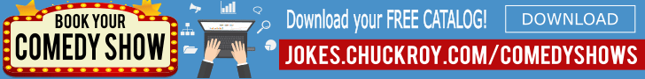 Jokes.ChuckRoy.com Comedy Shows - live comedy