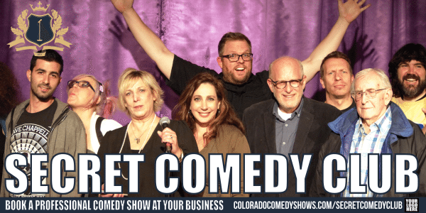Secret Comedy Club - Book A Professional Comedy Show
