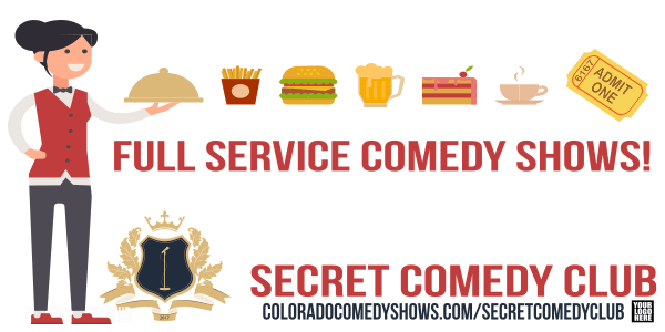 Secret Comedy Club - Full Service comedy Shows