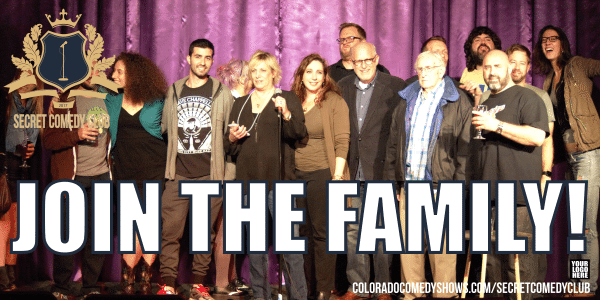 Secret Comedy Club - Join The Family