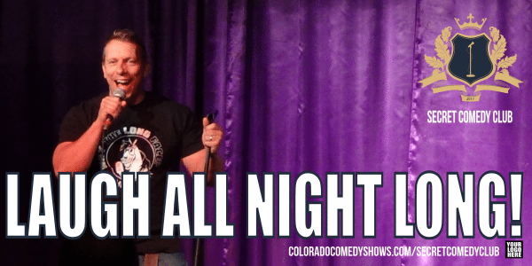 Secret Comedy Club - Laugh All Night