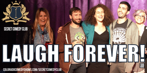 Secret Comedy Club - Laugh Forever