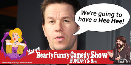 Mark Wahlberg - We're going to have a Hee Hee