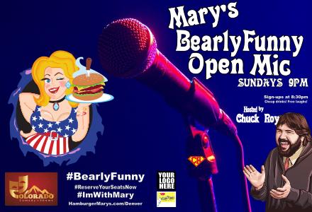 Mary's Bearly Funny Open Mic